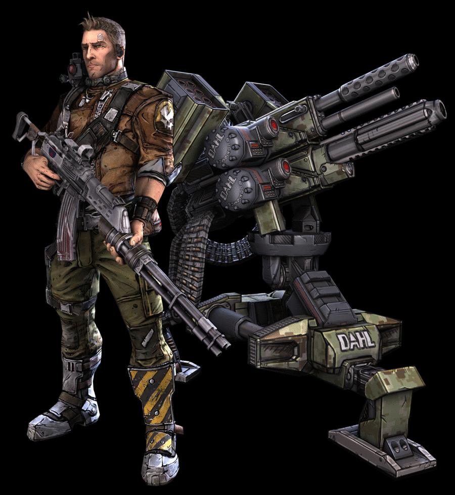 Borderlands 2 Skill Calculator: Commando